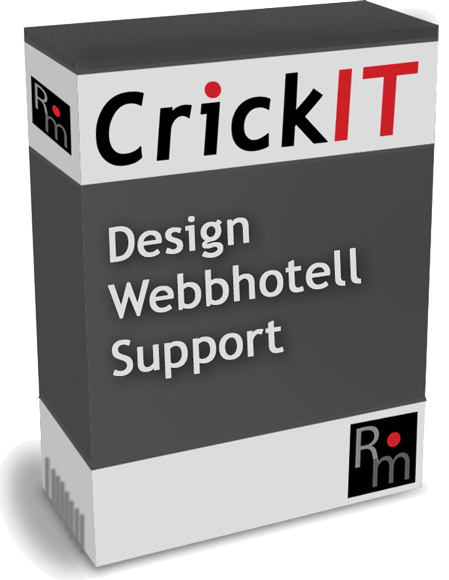 CrickIT - design, webbhotell och support